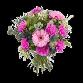 Ramo de flores gerberas y claveles